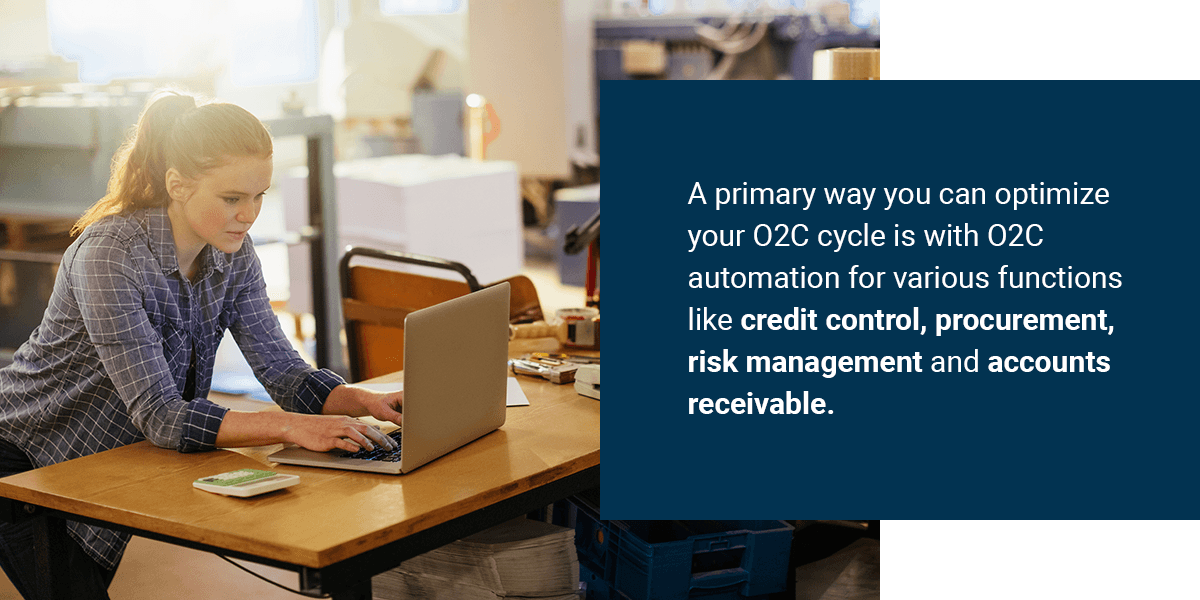 why businesses need order to cash automation