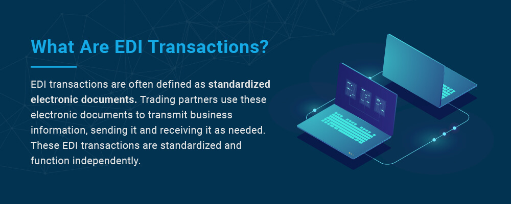 what are edi transactions