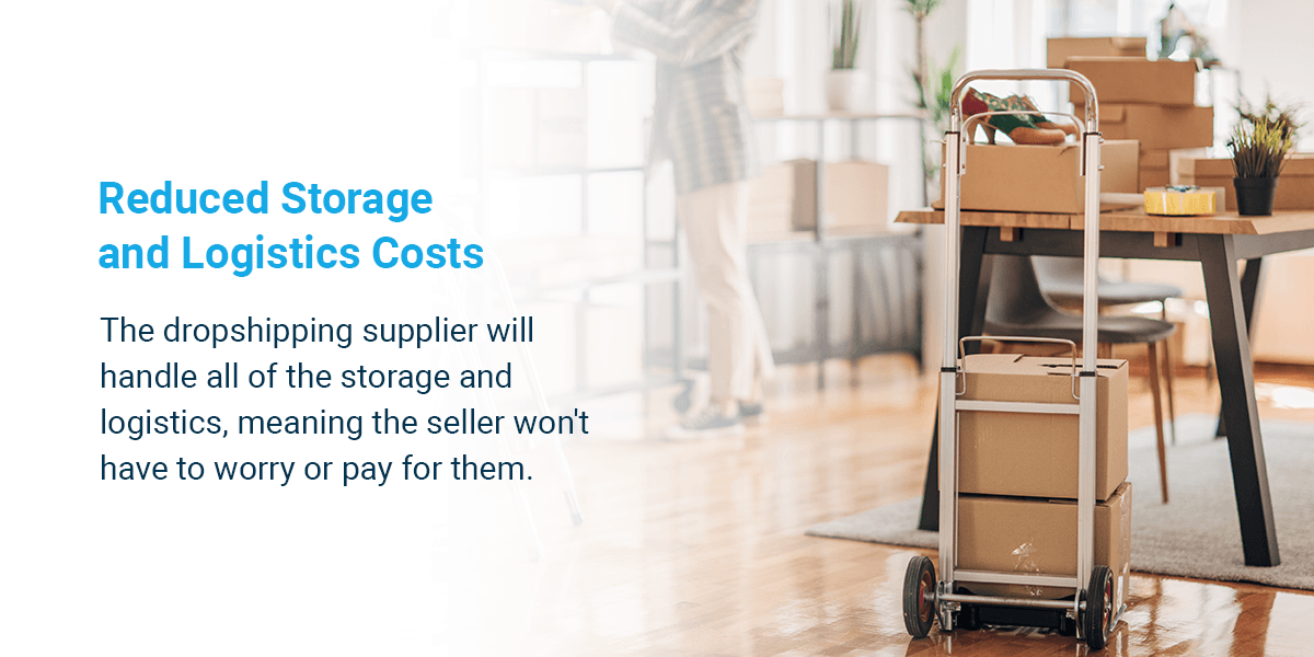 Reduced storage and logistics costs