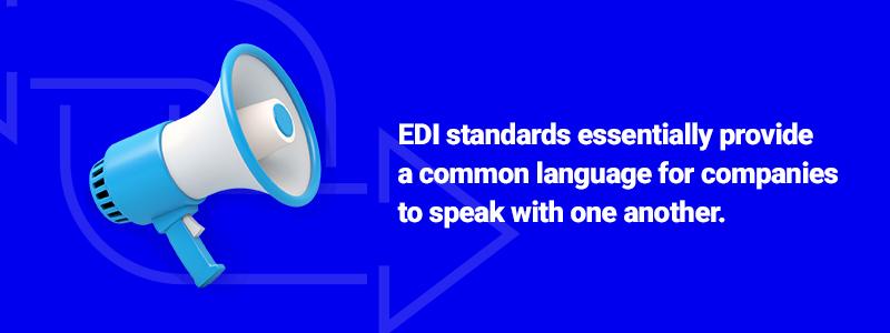 common language of edi standards